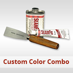 Combo Box with SeamFil Custom Color